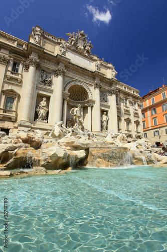 Leinwanddruck Bild Rome Italy
