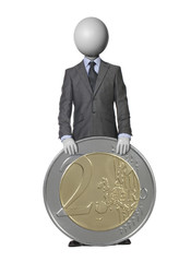 stabilité de l'Euro headman concept