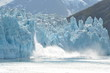 Leinwanddruck Bild - Glacier Bay Calving