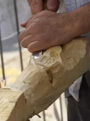 Lavorazione del legno - Cesello