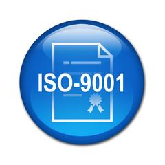 Boton brillante ISO-9001