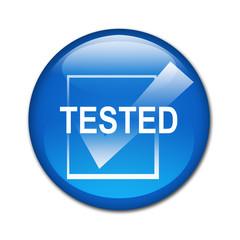Boton brillante TESTED