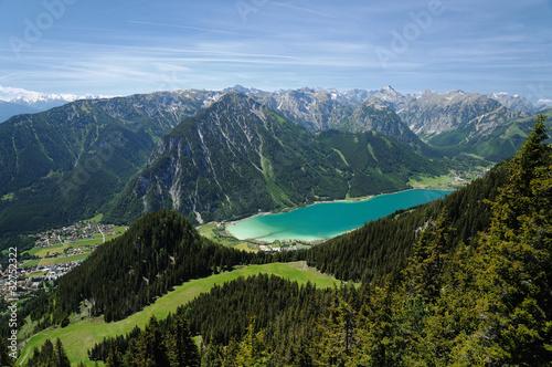 Fototapeten,bergsee,see,tirol,österreich