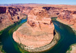 Horseshoe Bend on the Colorado River, Arizona.
