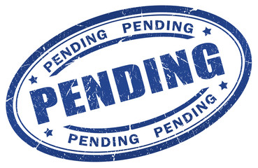 Pending stamp