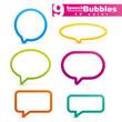 bubbles speech vector