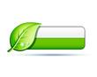 écologie icône bouton