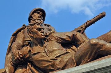 Helden der Roten Armee, Sowjetischer Militärfriedhof (Warschau)