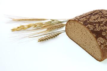 Brot mit Getreideähren