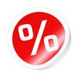 Prozent Sticker