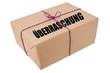 Überraschung - Überraschungspaket- Paket mit Aufschrift