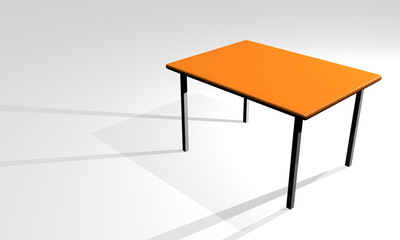 3d business table