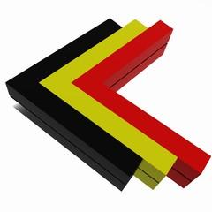 Freccia tricolore tedesca