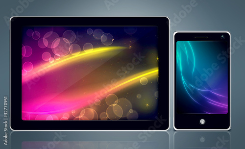 Tablet PC & Smartphone