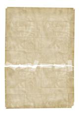 Papier zusammengeklebt als Hintergrund