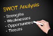 SWOT Analysis - Marketing and Business Concept