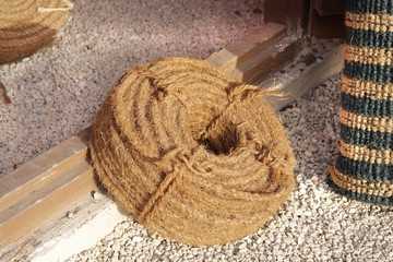 Rope used for hauling pearl divers