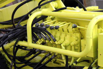 hand gear hydraulic machine