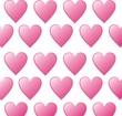 papier peint coeur