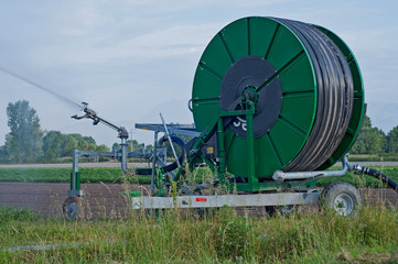 impianto mobile di irrigazione