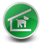 Green Glossy Icon