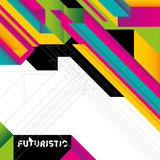 Fototapety Futuristic colorful background with abstraction.
