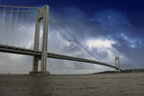 Storm over Verrazzano Bridge