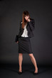 Full length shot of business woman
