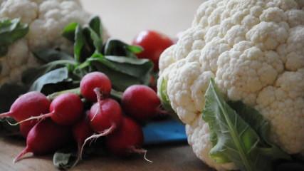 Gemüse unter der Lupe