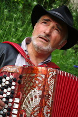 joueur d'accordéon