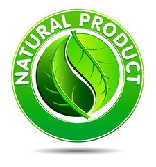 Green Natural product Symbol