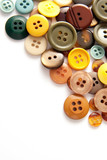 buttons of various colors