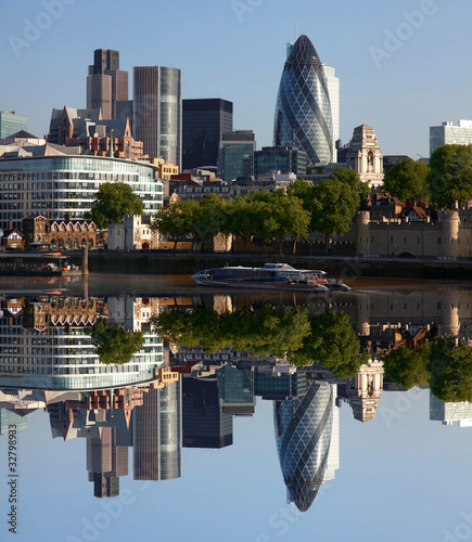 London, modern cityscape, UK