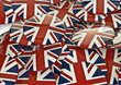Union jack badges