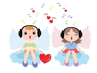Sings angels