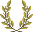 Laurel wreath – vector illustration