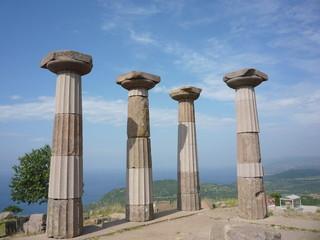 Assos an ancient city in turkey