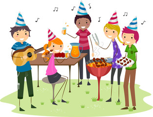 Birthday Barbecue Party