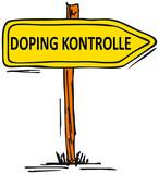 Doping-Kontrolle poster