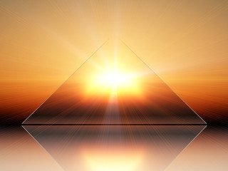 triangle solaire