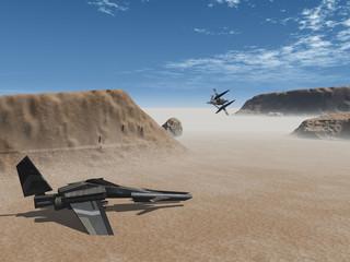 naves en el desierto