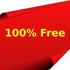 Button: 100% Free