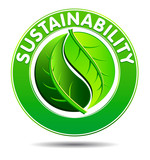 Sustainability Symbol poster