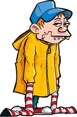 Cartoon of a Bucktooth Loser