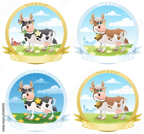 Dairy Products Labels - 32818592