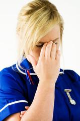 tiring nurse