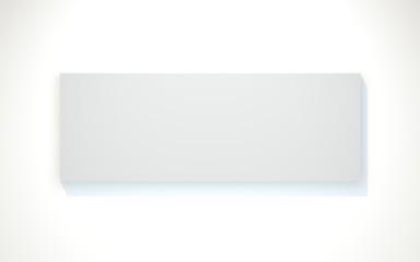 Weiße Wandbild Vorlage
