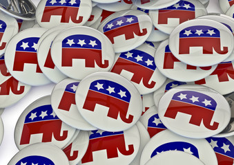 Republican badges