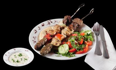 Mixed kebab.