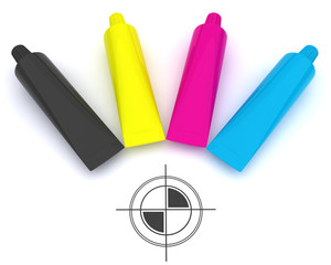 CMYK and polygraphic cross